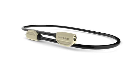 Hiplok Pop - Candado de cable - beige/blanco